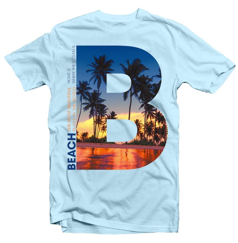 B PALM BEACH tshirt designs for merch by amazon