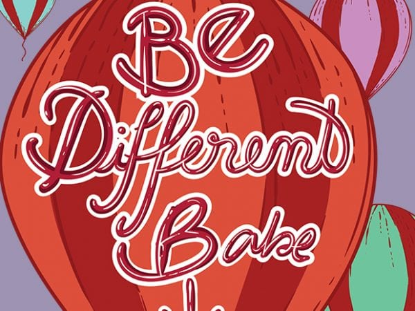 1 11 600x450 - Be different babe buy t shirt design