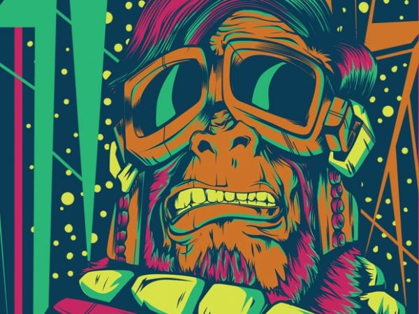 1 5 600x450 - Space Monkey buy t shirt design