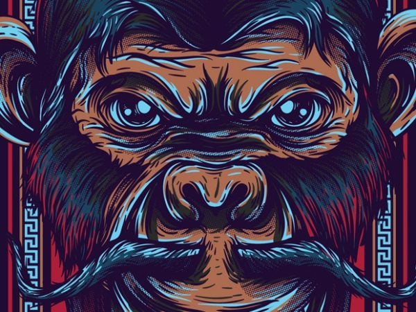 1 6 600x450 - Royal Monkey buy t shirt design