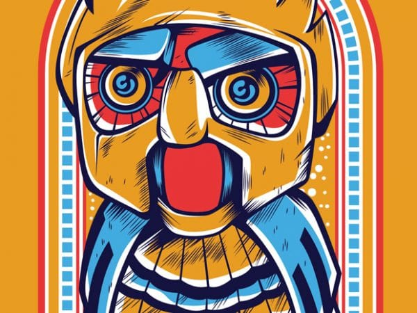 1 8 600x450 - Owl Robot buy t shirt design