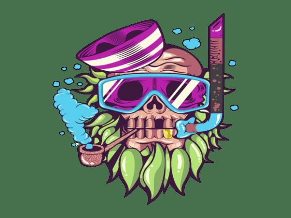 1234 600x450 - skull snorkle buy t shirt design