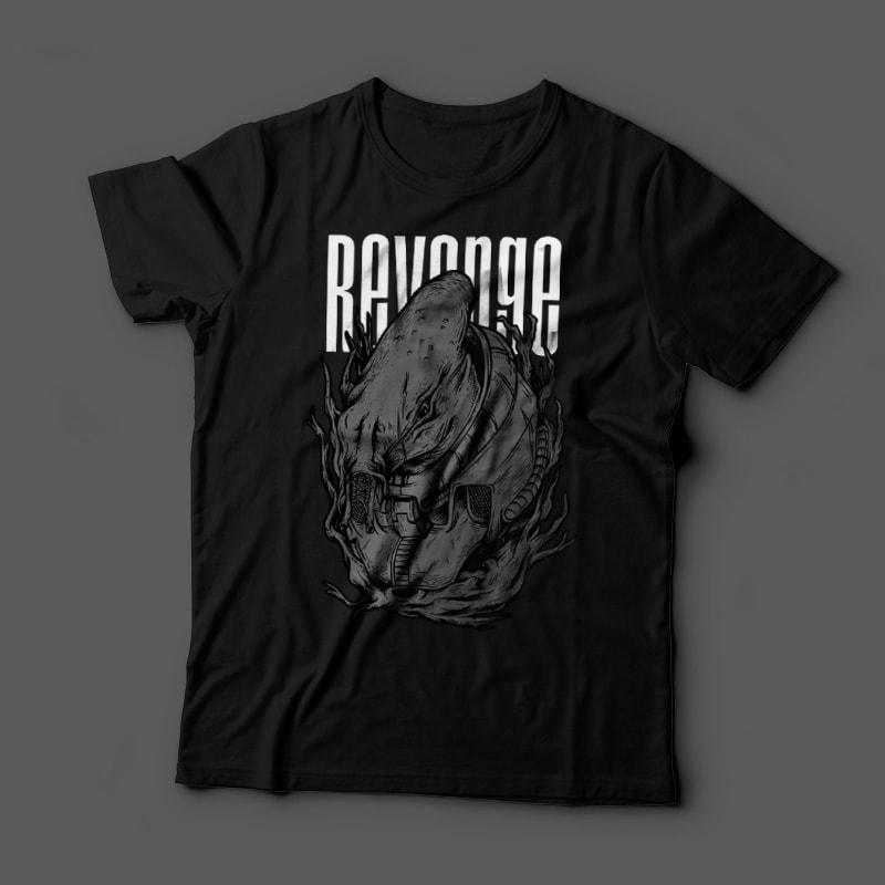 Revenge Alien buy t shirt designs artwork