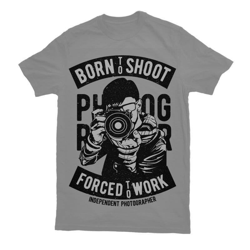 Born To Shoot tshirt factory