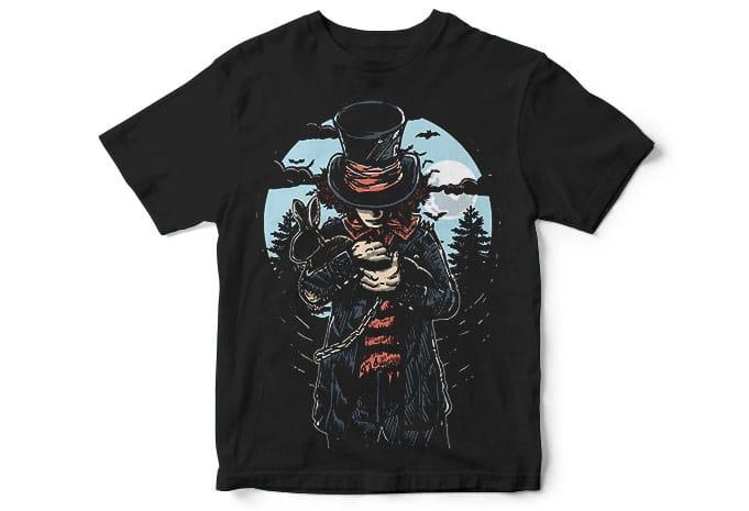Mad Hatter buy T shirt Design - Mad Hatter T shirt Design buy t shirt design