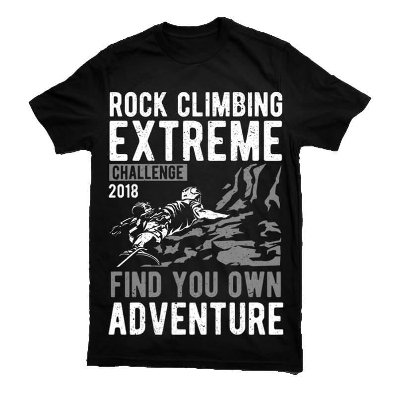 Rock climbing buy t shirt designs for Buy t shirt designs online