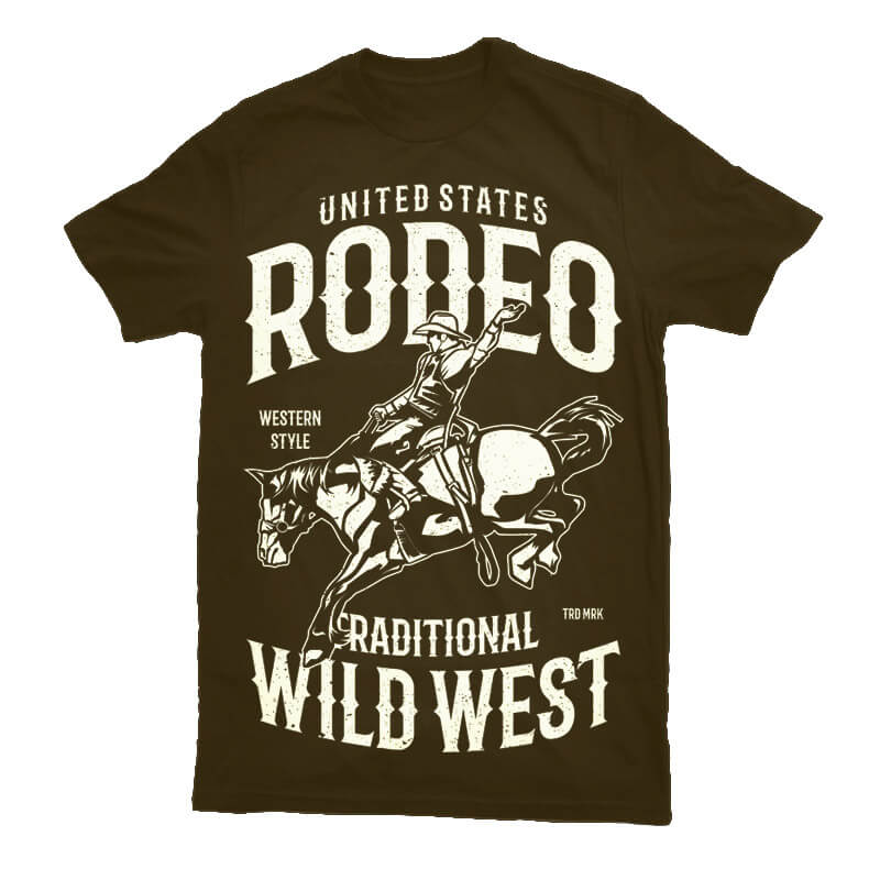 Rodeo buy tshirt design