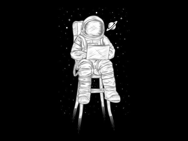 Astro print ready vector t shirt design