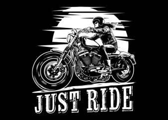 Biker Girl t shirt template