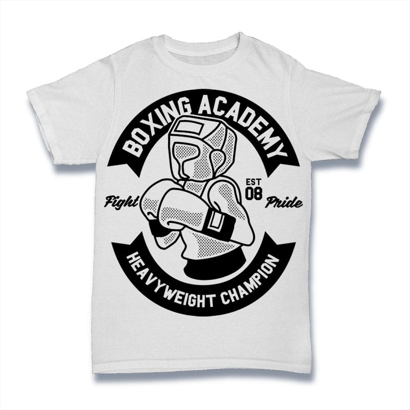 Boxing Academy Mockup - Boxing Academy buy t shirt design
