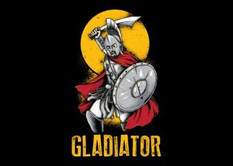 Gladiator T-Shirt Design