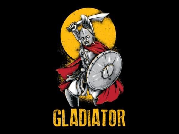 Gladiator T-Shirt Design