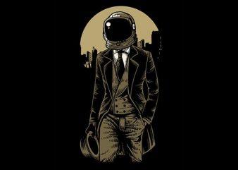 Classic Astronaut t shirt design