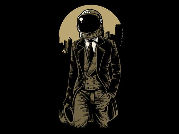 Classic Astronaut t shirt design 600x450 - Classic Astronaut t shirt design buy t shirt design
