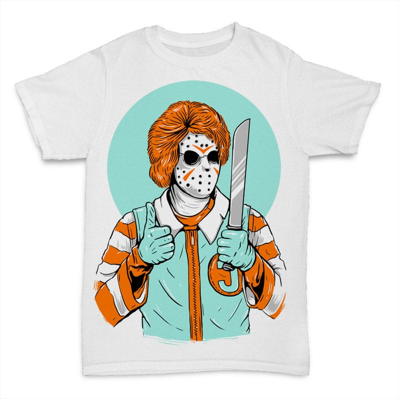 Clown Killer T shirt design 23639 - Clown Killer concept buy t shirt design