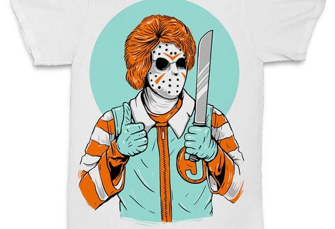 Clown Killer tshirt design - Clown Killer concept buy t shirt design