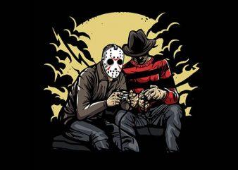 Dark Gamers t shirt design