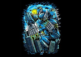 Destroy The City buy t shirt design for commercial use