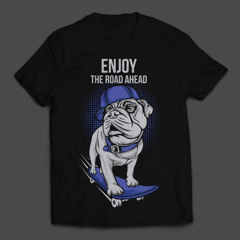 Dog Skates Mockup - Dog Skates buy t shirt design