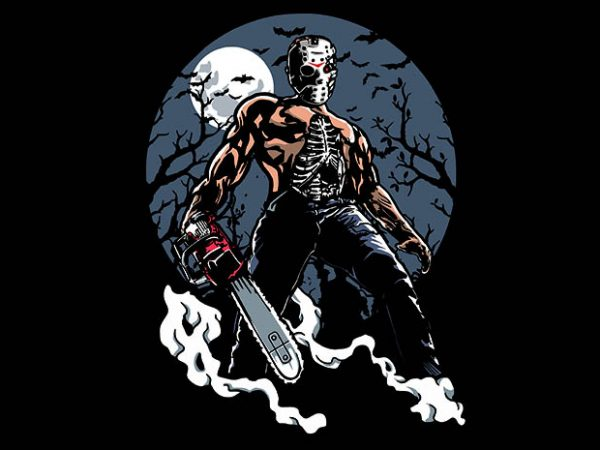 Evil Killer tshirt design