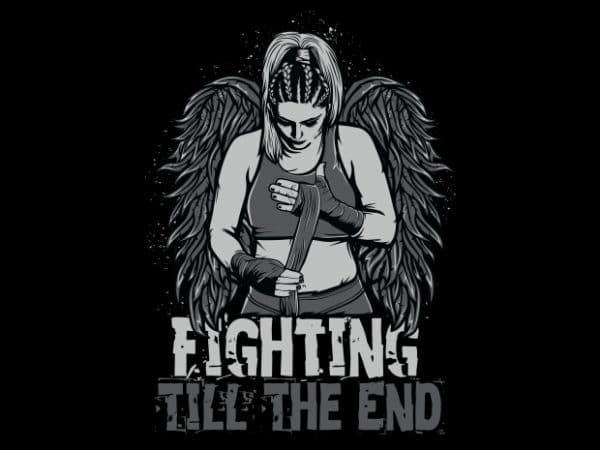 Fighter 02 t shirt graphic design