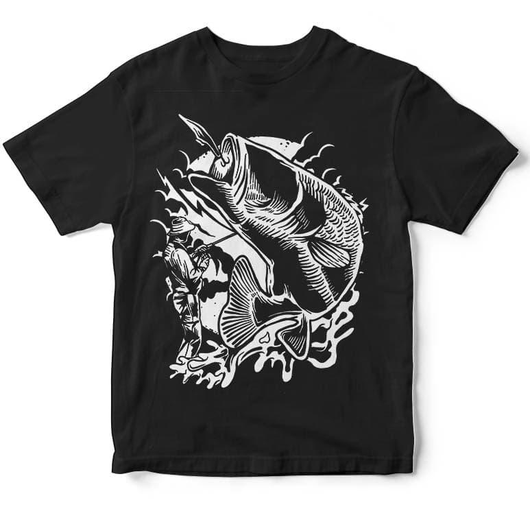 Fisherman tshirt design buy t shirt designs for Buy t shirt designs online