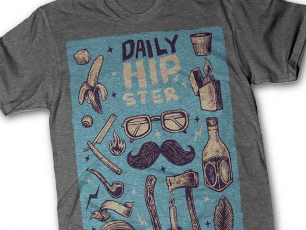 Hipster thsirt design 600x450 - Hipster tshirt design buy t shirt design