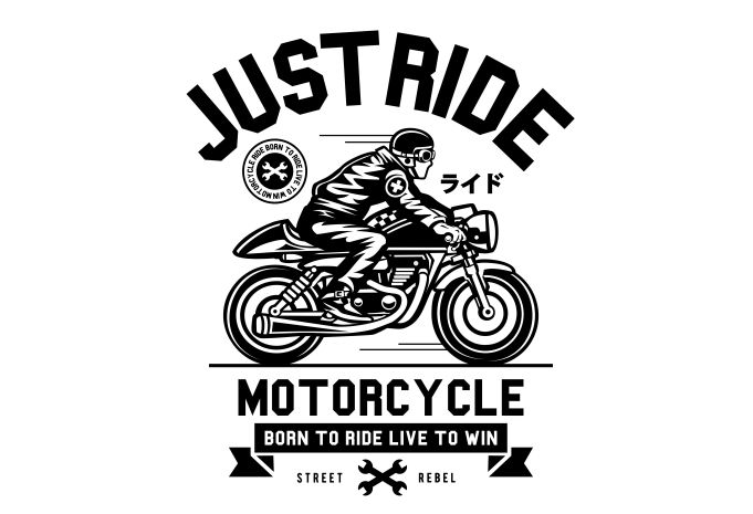 Just Ride Display - Just Ride buy t shirt design