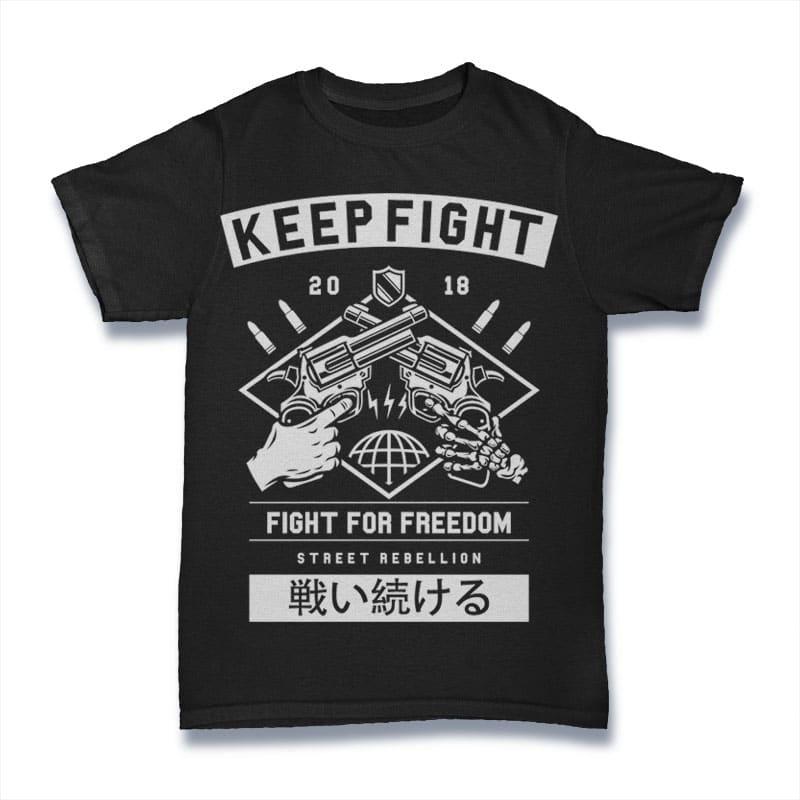 Keep Fight Mockup 1 - Keep Fight buy t shirt design