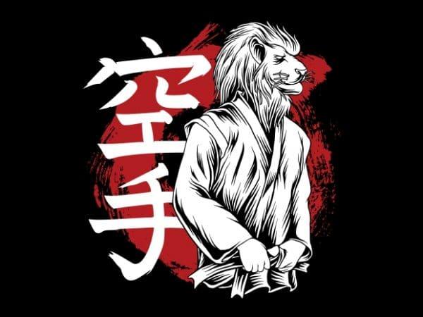 King of The Karate t shirt vector art