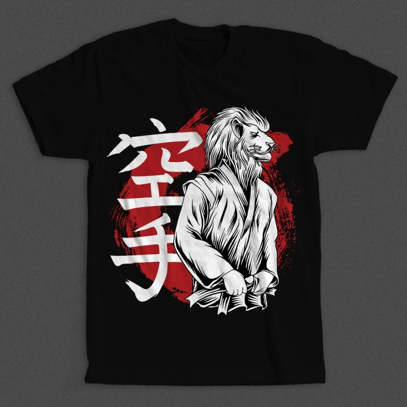 King of The Karate t shirt designs for teespring