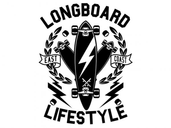 Longboard Lifestyle Display 600x450 - Longboard Lifestyle buy t shirt design
