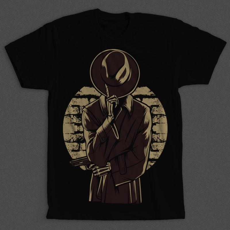 Mafia Skull V2 Buy T Shirt Designs