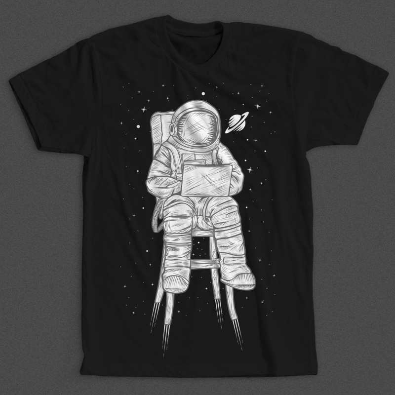 Astro t shirt designs for print on demand