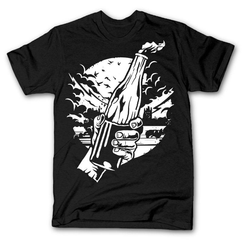 Molotov cocktail shirt design 32036 buy t shirt designs for Buy t shirt designs online