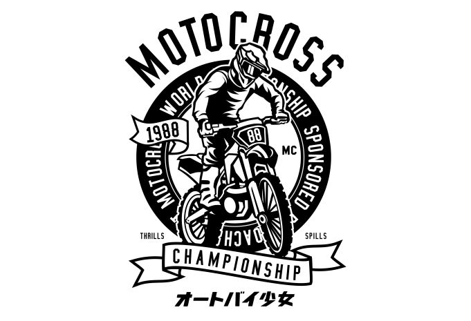 Moto Cross Display - Moto Cross buy t shirt design