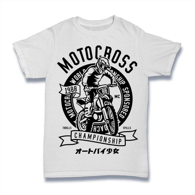 Moto Cross Mockup - Moto Cross buy t shirt design