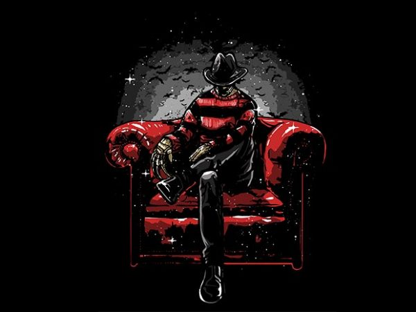 Nightmare Side t shirt design