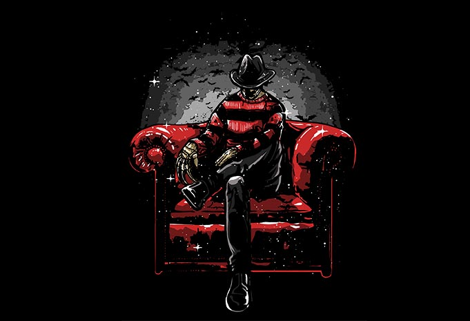Nightmare Side buy tshirt design - Nightmare Side t shirt design buy t shirt design