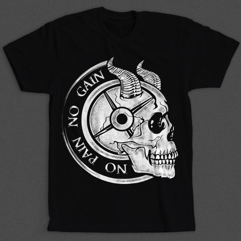 No Pain No Gain tshirt-factory.com