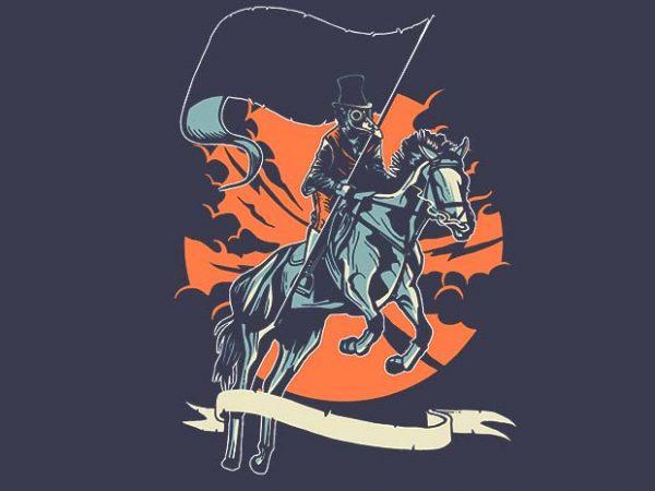 Plague Doctor t shirt design