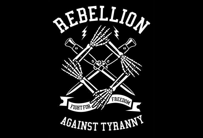 Rebellion Display - Rebellion buy t shirt design
