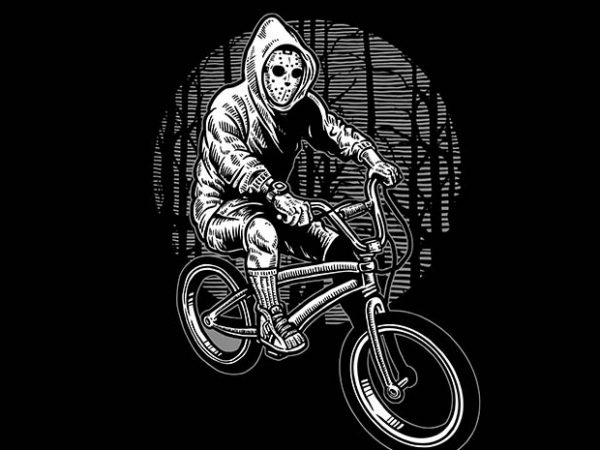 Ride Bike To Kill t shirt design
