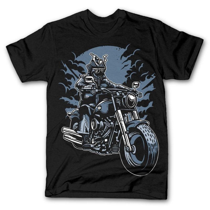 Samurai ride t shirt design buy t shirt designs for Buy t shirt designs online