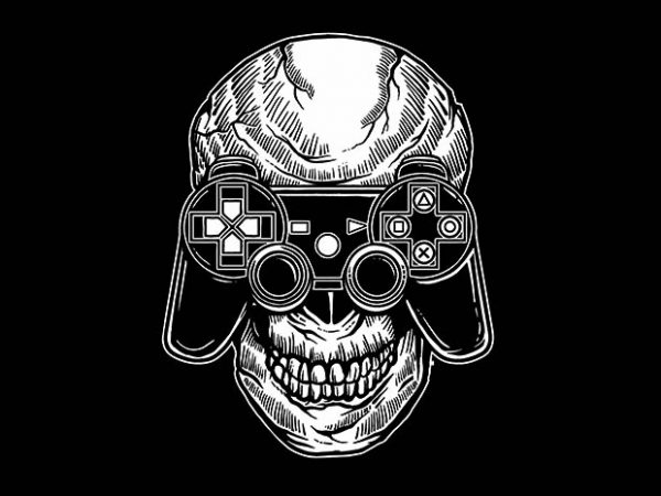 Skull Gamers buy tshirt design 600x450 - Skull Gamers t shirt design buy t shirt design