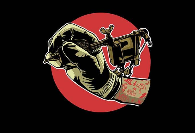 Tattoo Machine buy tshirt design - Tattoo Machine t shirt design buy t shirt design