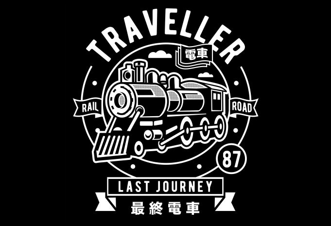 Traveller Display - Traveller buy t shirt design