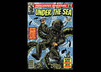 Under The Sea t shirt design