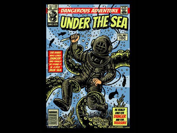 Under The Sea buy tshirt design 600x450 - Under The Sea t shirt design buy t shirt design