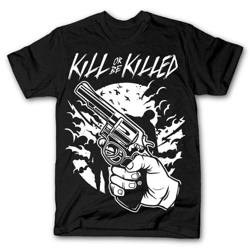 Zombie shooter t shirt design buy t shirt designs for Buy t shirt designs online